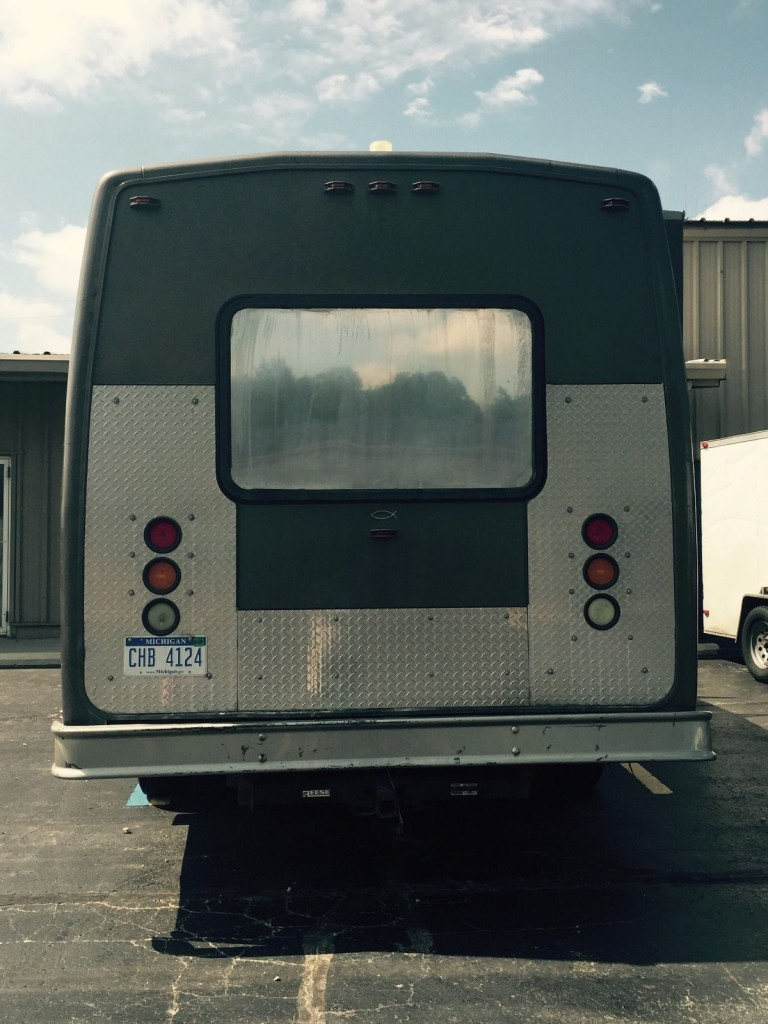2002 Ford E 450 Custom 12 Passenger Bus For Sale