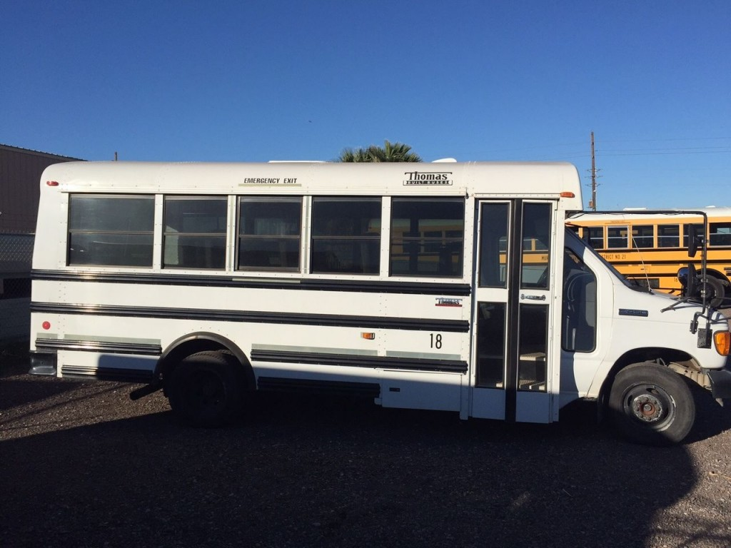 2007 ford thomas minotour activity school arizona bus for sale. Black Bedroom Furniture Sets. Home Design Ideas