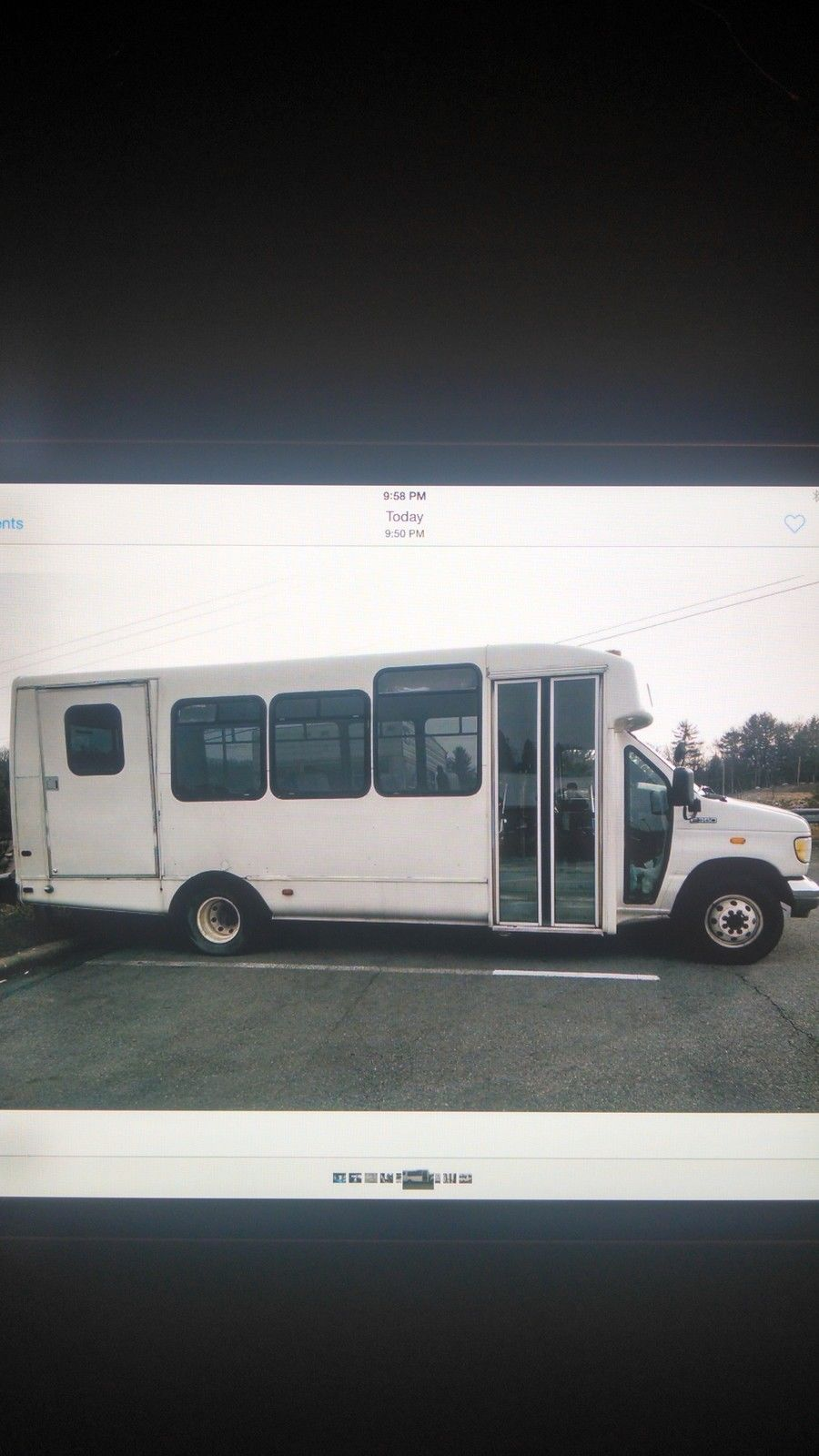 1997 Ford E350 bus for sale
