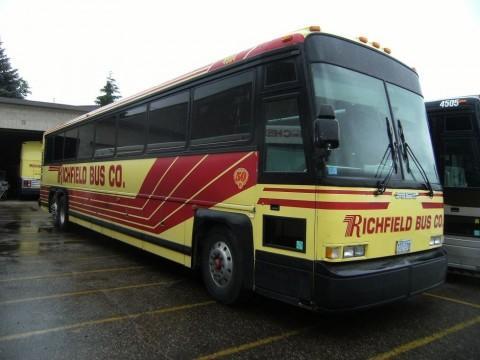 1997 MCI 102 DL3 55 Passenger Coach for sale