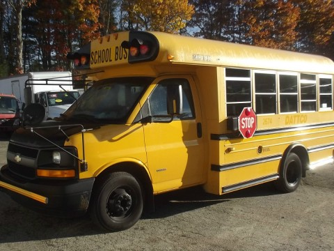 2006 Chevrolet Duramax Diesel Mini Bus 21 Student passenger for sale