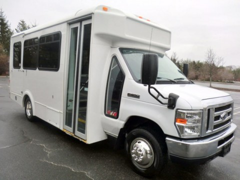 2013 Ford E350 Non CDL Wheelchair Shuttle Bus for sale