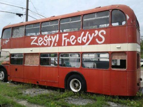 1957 Original British Double Decker Bus for sale