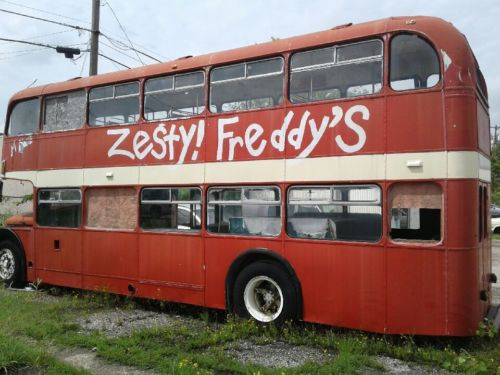 1957 Original British Double Decker Bus For Sale