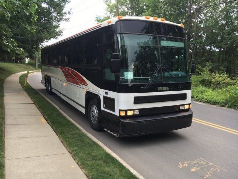 1999 MCI 45ft Charter Coach Bus for sale
