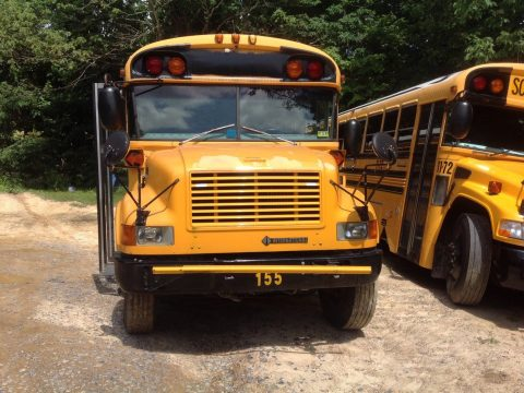 2001 International Bluebird 77 Passenger School Bus for sale