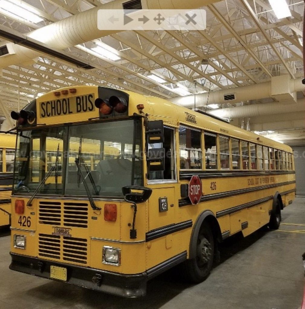 thomas mvp front engine school bus  sale