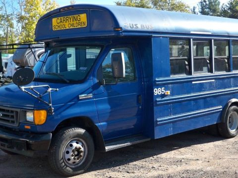FORD E450 24 Passenger School BUS – DRIVES GREAT for sale