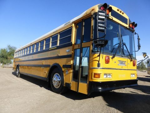 1998 THOMAS 90 PASS 8.3 CUMMINS SCHOOL BUS for sale