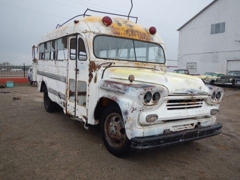 1958 Chevrolet Superior School Bus Short for sale