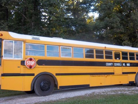1999 Thomas Saf T Liner School bus for sale