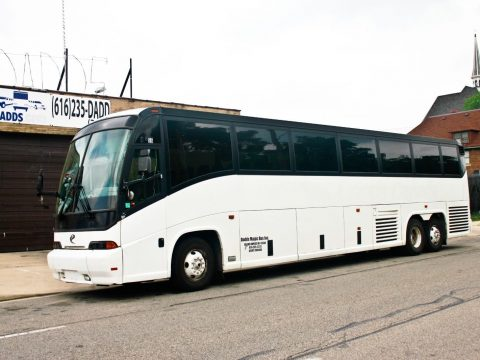 2000 MCI E Model 56 pass bus with Buildout options for sale