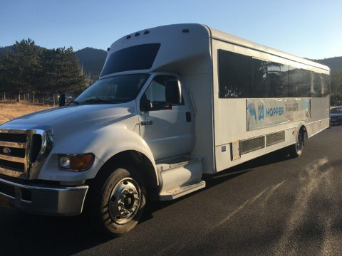 2007 Ford F650 40 Passenger Glaval Bus for sale