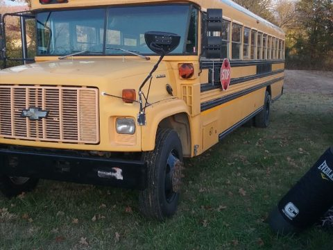 1998 Chevy Bluebird bus for sale