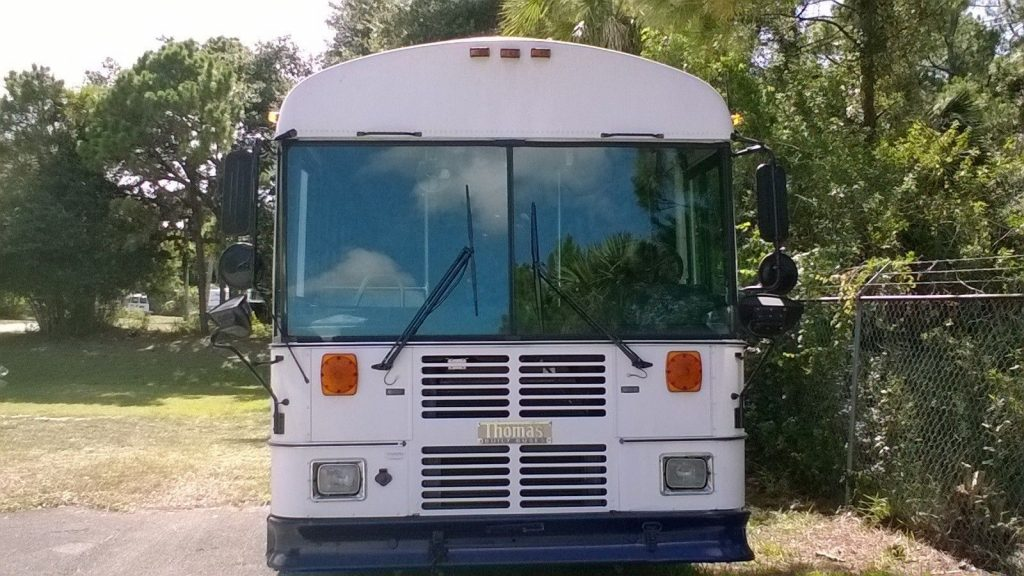 1999 Thomas Built bus, Former Military Hospital Evacuation bus