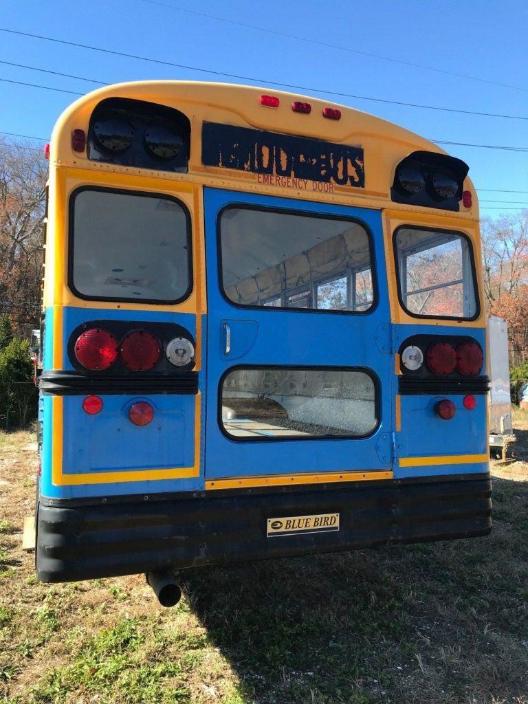 2001 Blue Bird School Bus