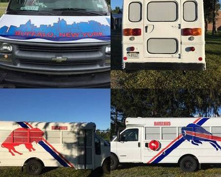 Buffalo Bills Tailgating Short Bus for sale