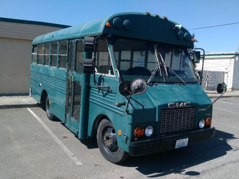 GMC Diesel School bus 146,000miles for sale