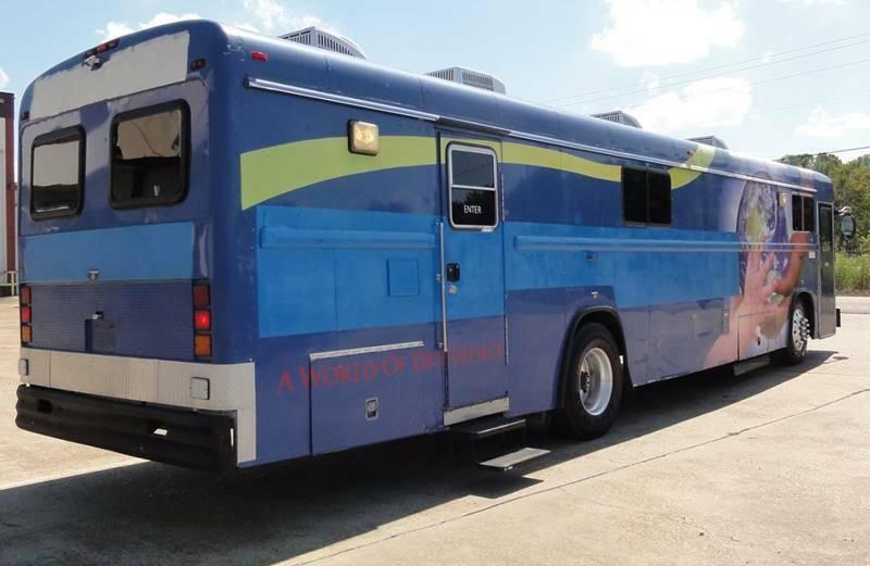 1997 Blue Bird Bloodmobile Dual Doors Cummins Turbo Diesel