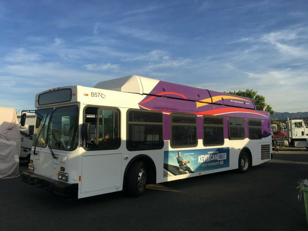 2001 Newflyer ex Glendale City Transit Bus