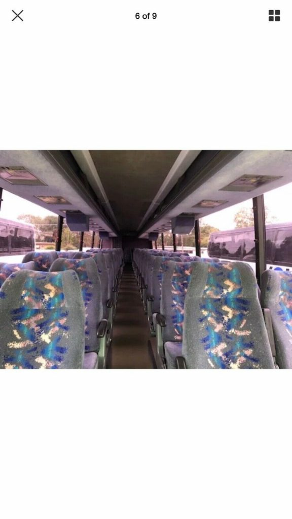 2000 Vanhool Charter bus